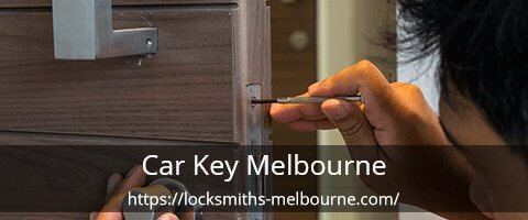 Car key Melbourne